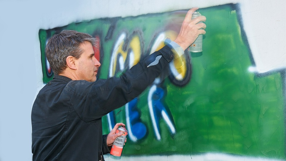 Graffiti-Sprayer